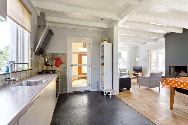 Modern vakantiehuis op Schiermonnikoog met open keuken
