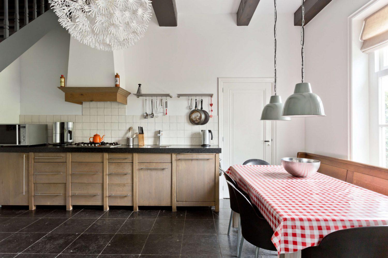 Vakantiehuis Us Wente op Schiermonnikoog met riante woonkeuken