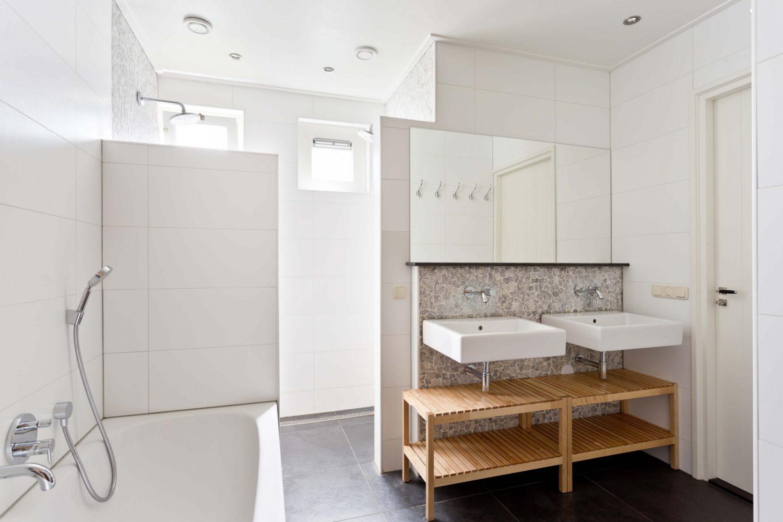 Vakantiehuis op Schiermonnikoog met luxe moderne badkamer