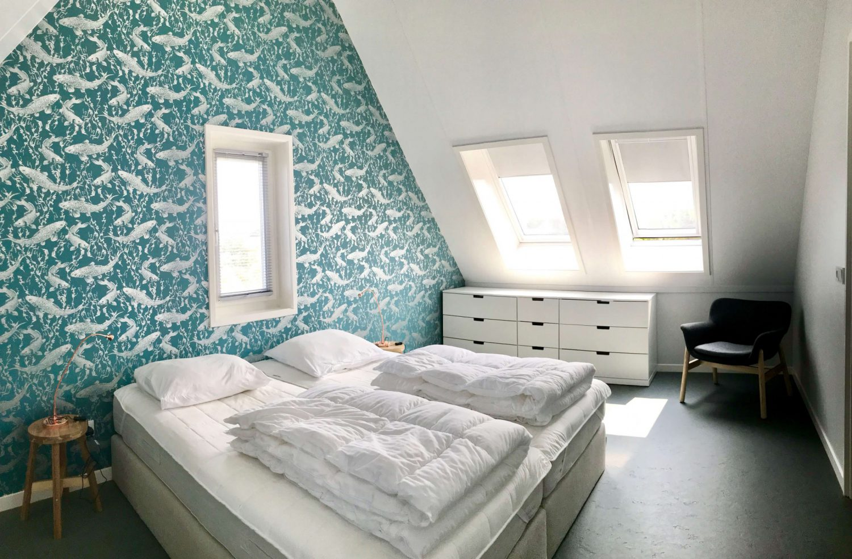 Vakantiewoning met luxe slaapkamer op Schiermonnikoog